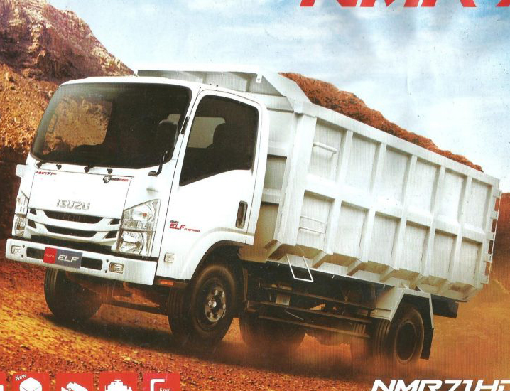 ELF NMR 71 HD Dump Truk